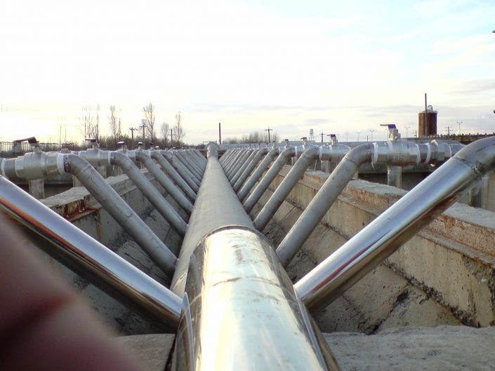 پروژه تأسیسات آب و فاضلاب
